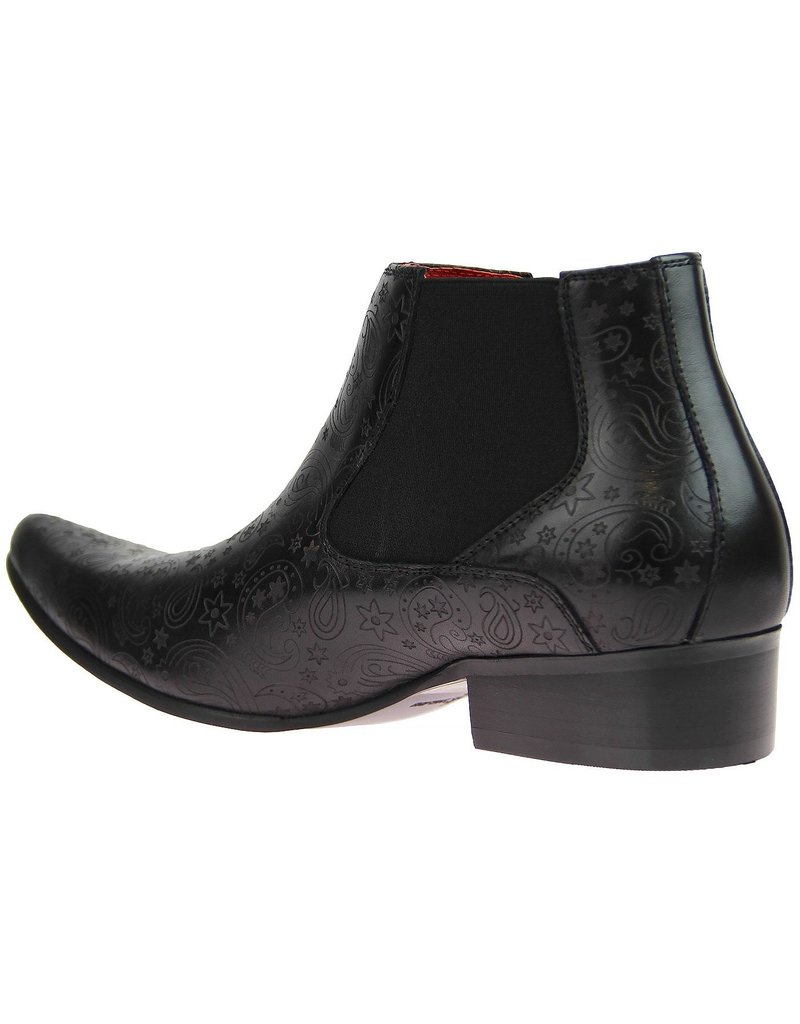 Madcap England Chelsea Boots mit Paisley Muster