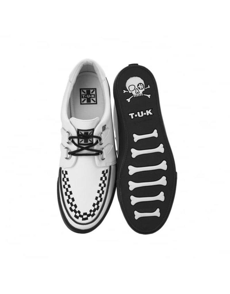 T.U.K. Footwear Creeper Sneaker in Weiß