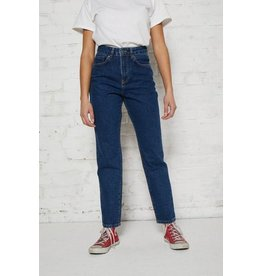 The Ragged Priest Gerade geschnittene blue Jeans mit hoher Taille