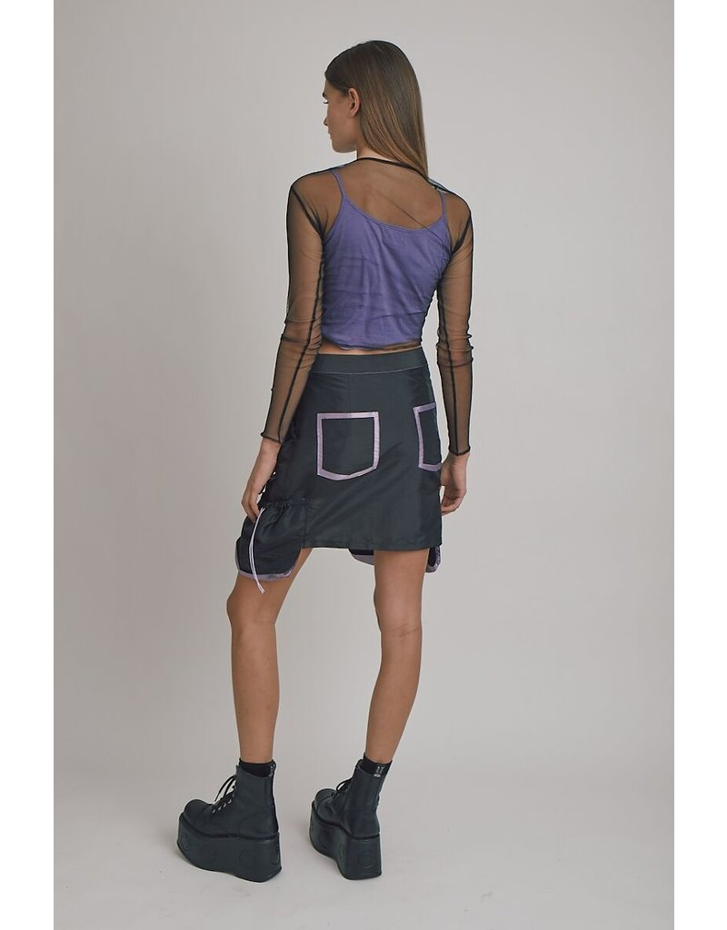 The Ragged Priest Mesh Top lavender
