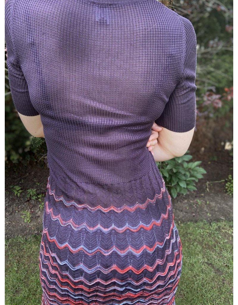Missoni Vintage Häkelstrick Kleid