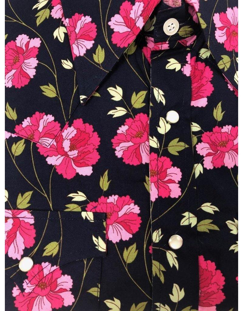Chenaski Hemd Dark Flower