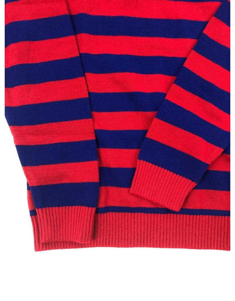 Chenaski Pulli mit Streifen in Kontrastfarben