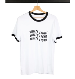 Good Morning Keith T-Shirt White Light