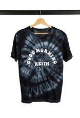 Good Morning Keith Black Tye & Dye T-Shirt