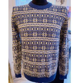 Art Gallery Strickpullover mit Norwegermuster