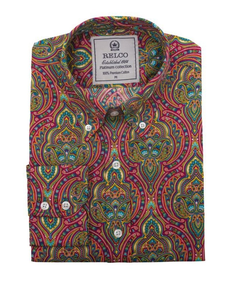 Relco London Psychedelic Hemd