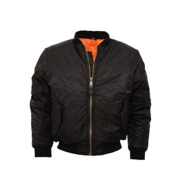 Relco London Bomber Jacke in schwarz