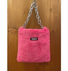 The Ragged Priest Tasche aus Fell in pink