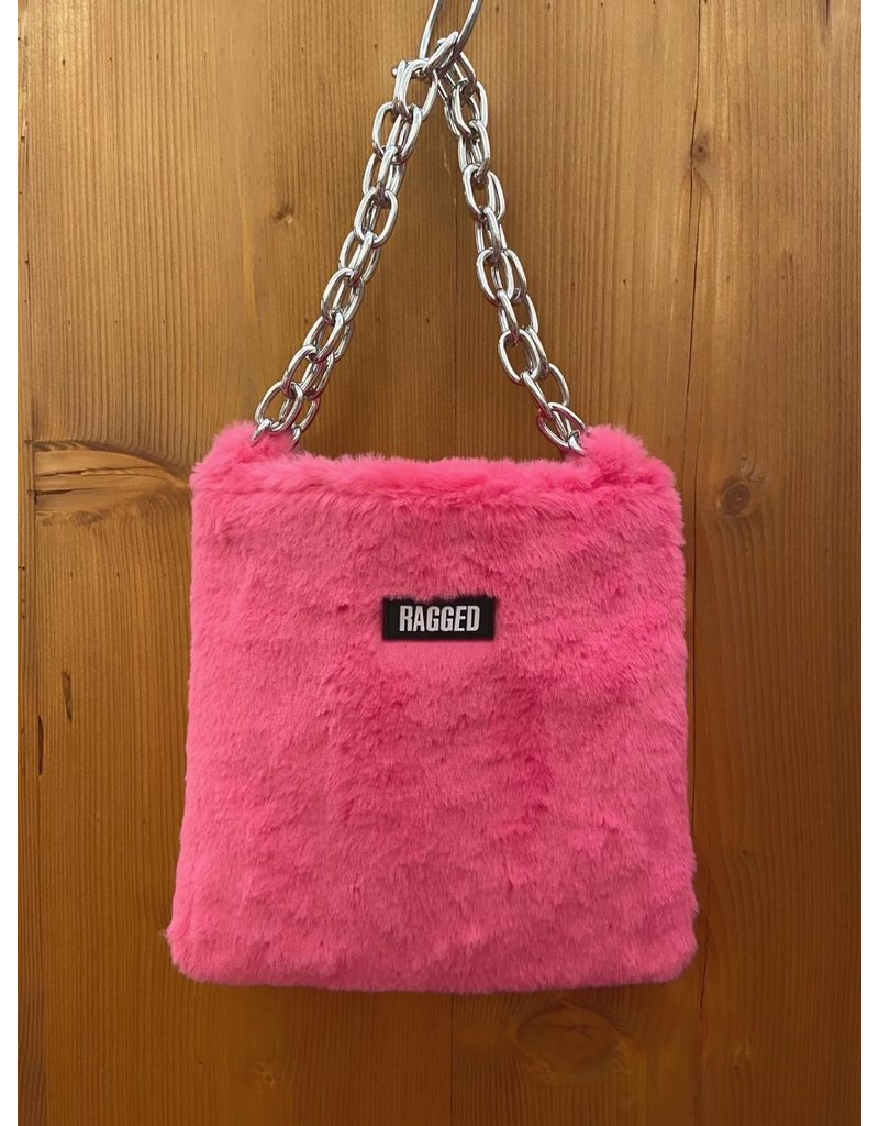 The Ragged Priest Tasche aus Fell in pink