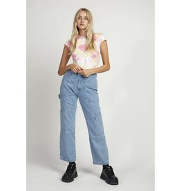 The Ragged Priest Jeans Cargo in blau