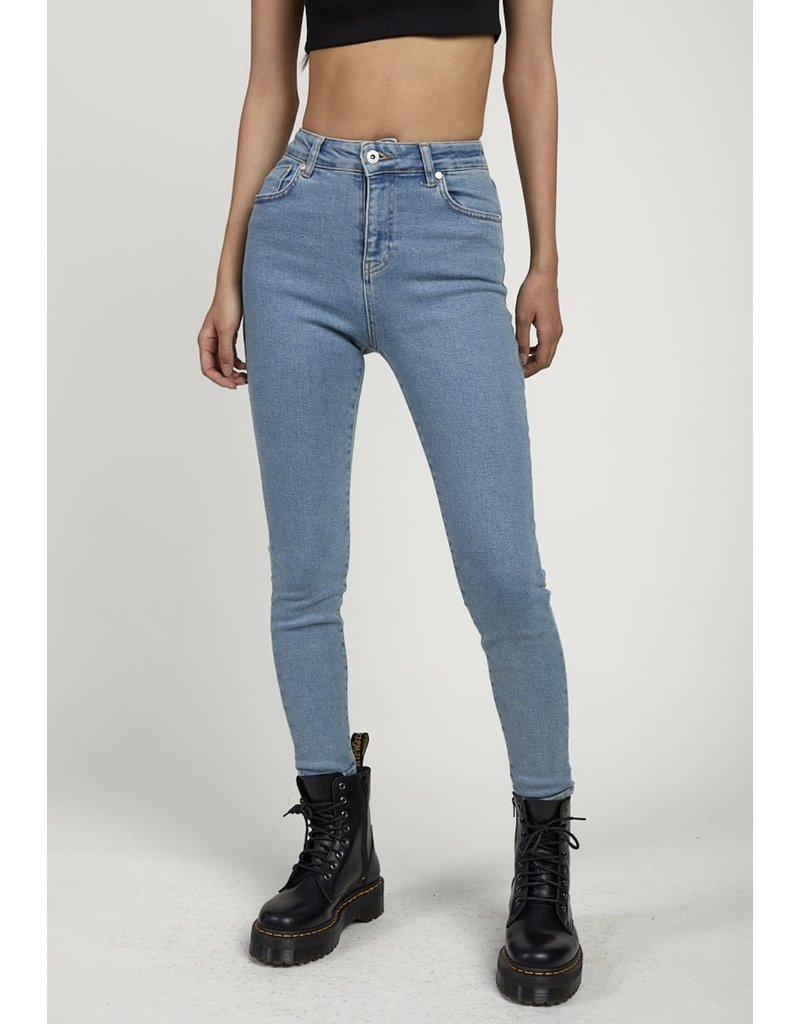 The Ragged Priest Jeans 'Vapour' in light blue