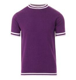 Madcap England T-Shirt gestrickt lila
