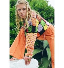 The Ragged Priest Patchwork Jumper