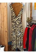Kleid Vintage mit Animalprint