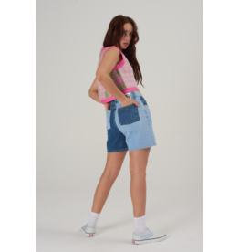 The Ragged Priest Jeans shorts twisted waist