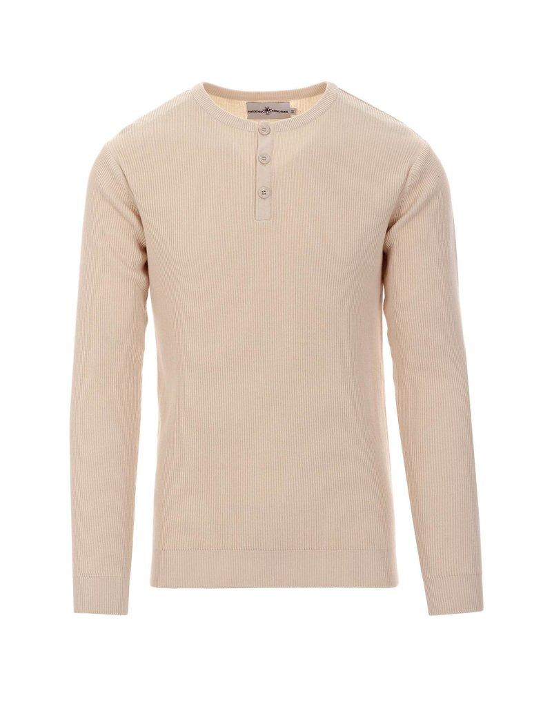Madcap England Shirt Rippstrick in creme