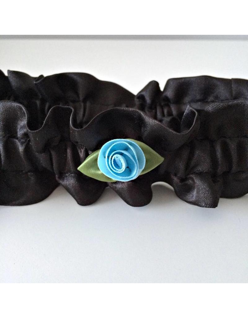Halsband mit Rose