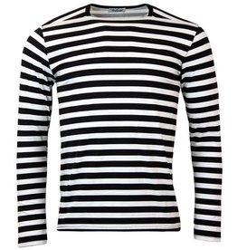 Madcap England Ringelshirt in schwarz/weiß