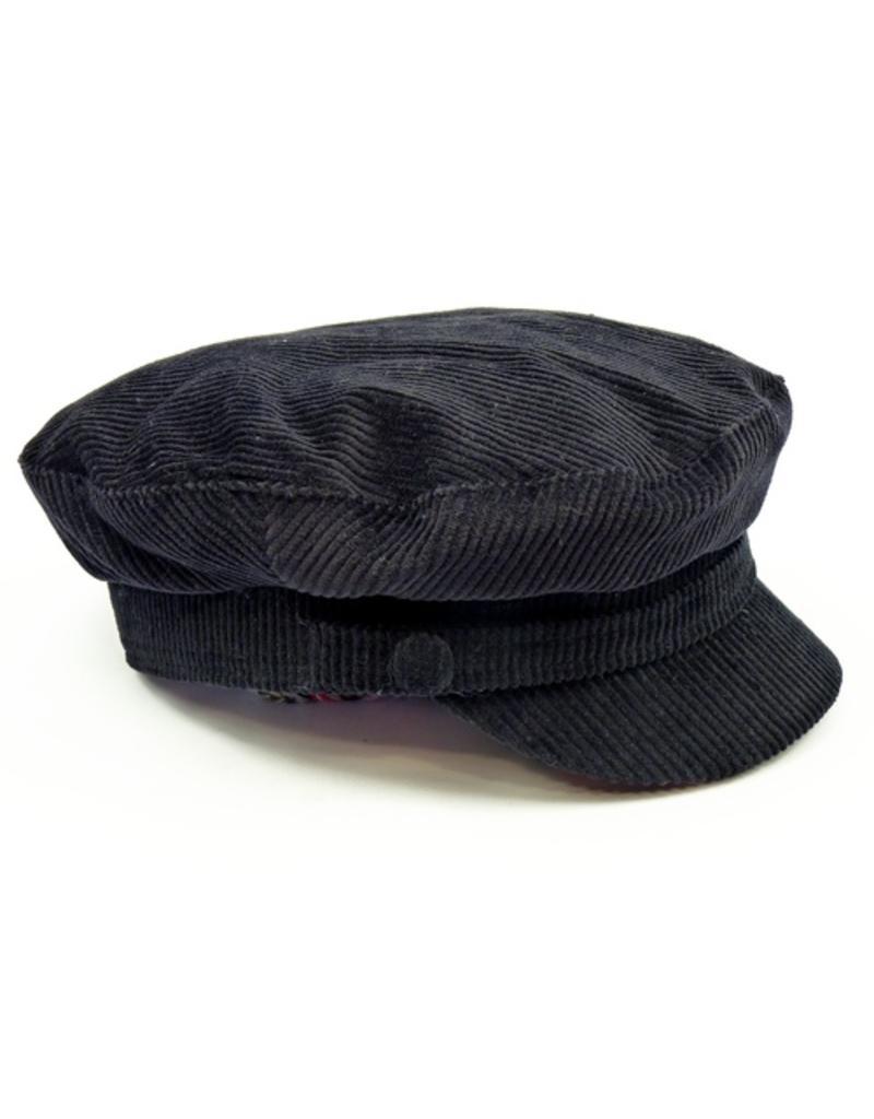 Madcap England Beatle Hut in schwarz aus Kord