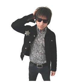Relco London Paisley shirt black/white premium