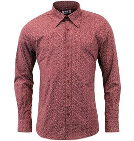 Madcap England Paisley Hemd in bordeaux