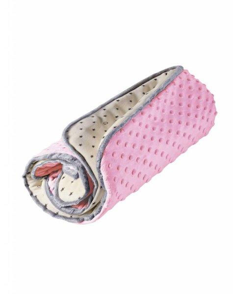 myHummy junior deken in de kleur roze
