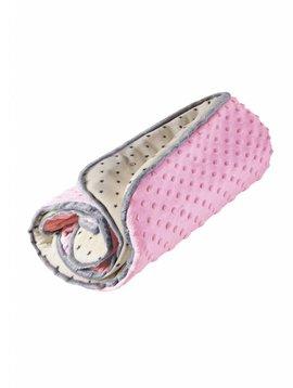 myHummy baby deken in de kleur roze