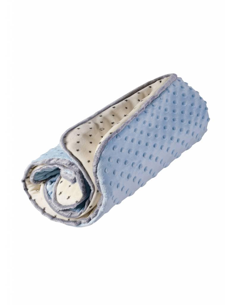 myHummy Winter blanket baby - Blue