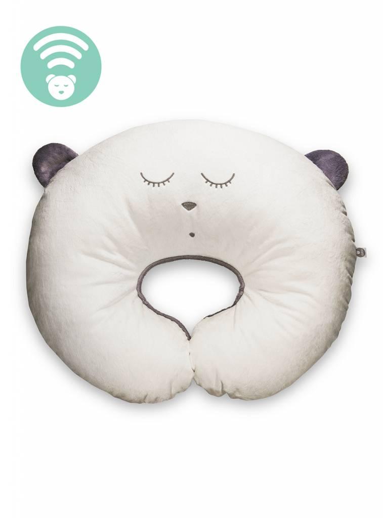 myHummy Cuscino allattamento con dispositivo sonoro -écru
