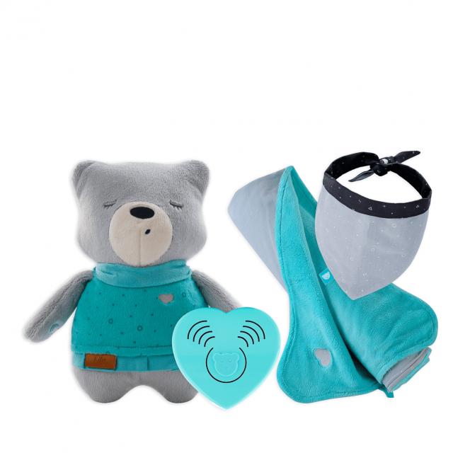 myHummy Set beer met slaapsensor & Favoriete Deken + bandana
