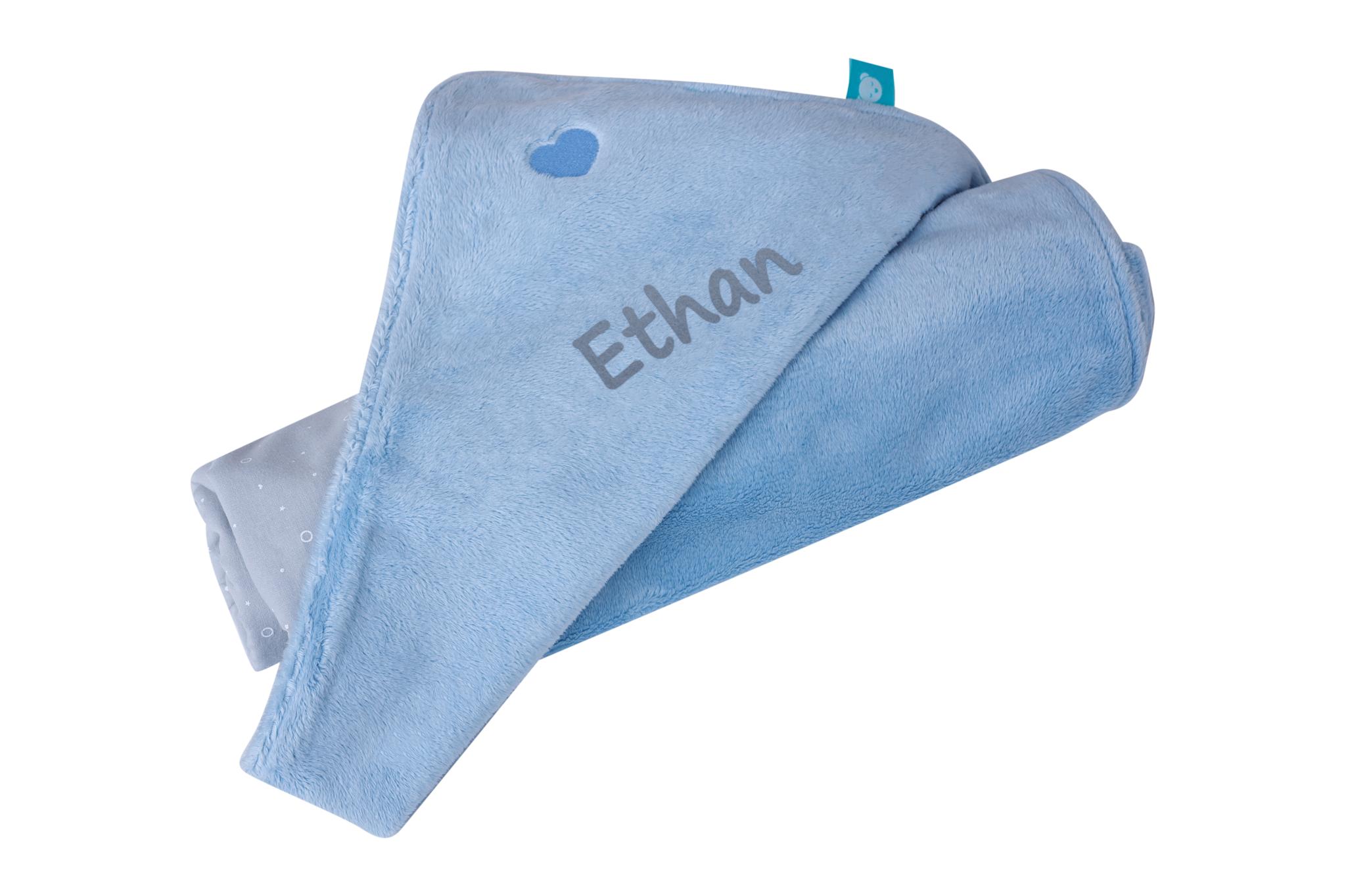 myHummy The Sleepthearts' Favorite Blanket - blue/grey