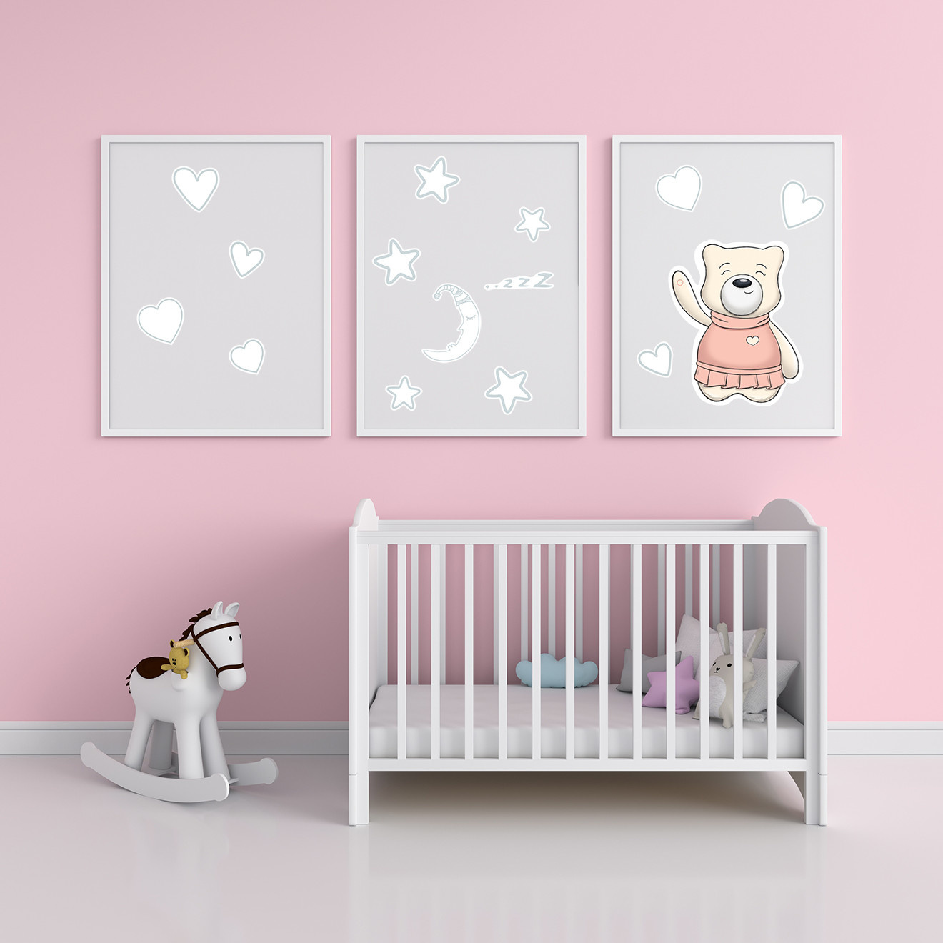 myHummy myHummy Nursery Wall Stickers