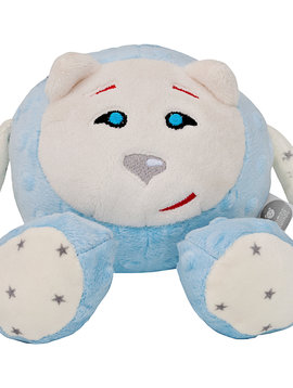 Peluche bleu SANS dispositif du son