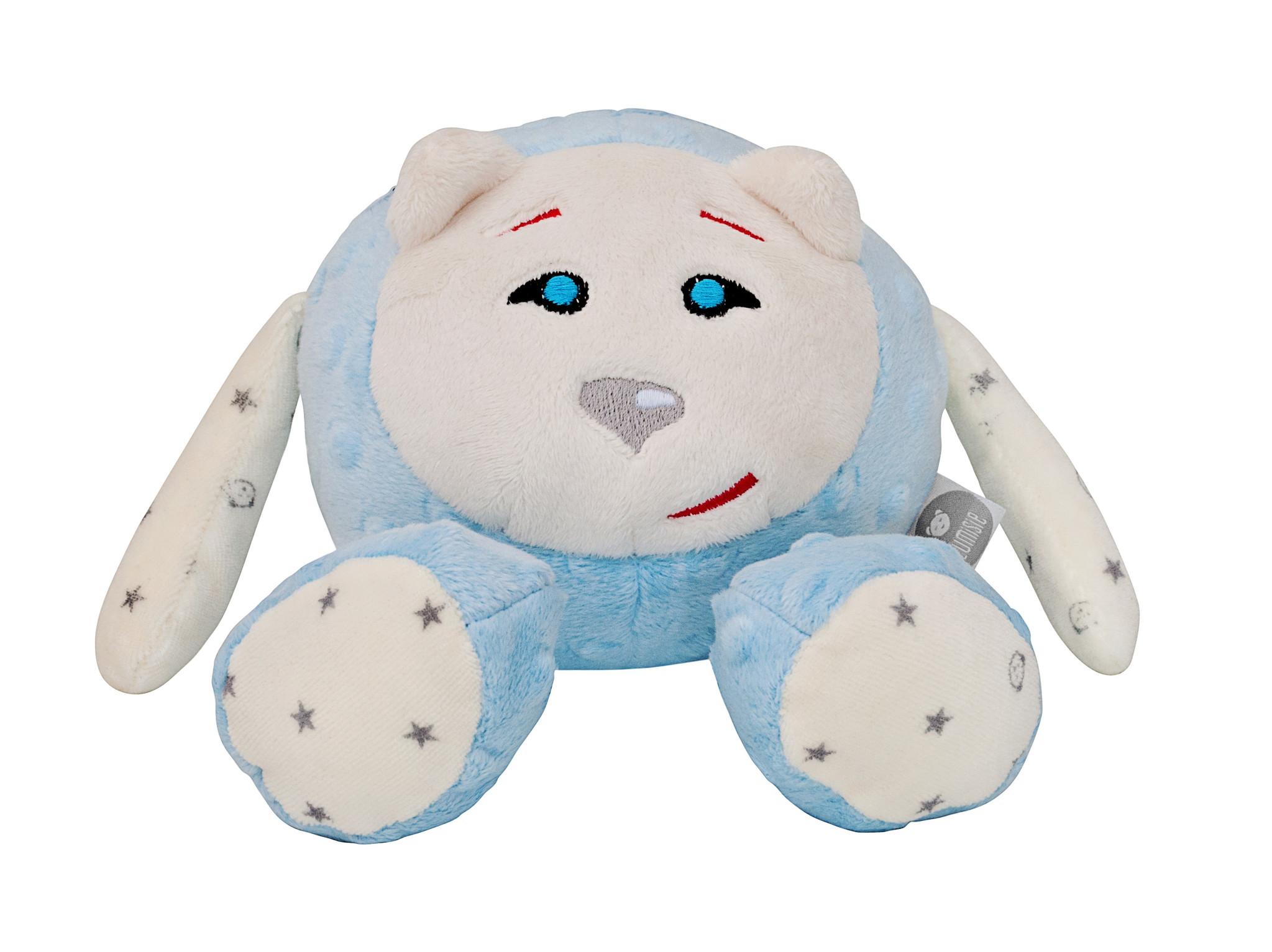Mascot blauw ZONDER geluidsmodule