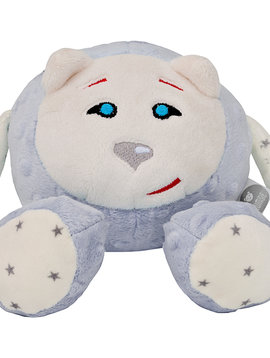 Peluche gris SANS dispositif du son