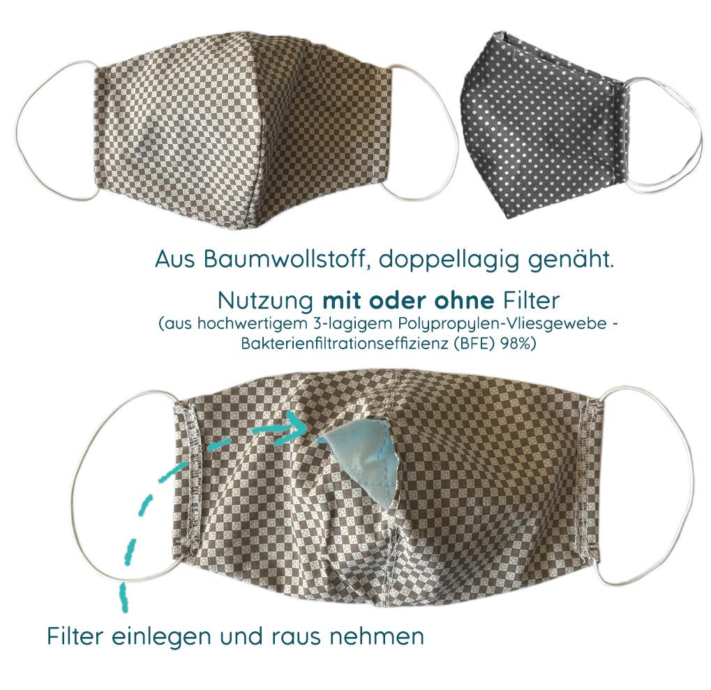 myHummy Filter für Stoffmasken (Kinder + Erwachsene)
