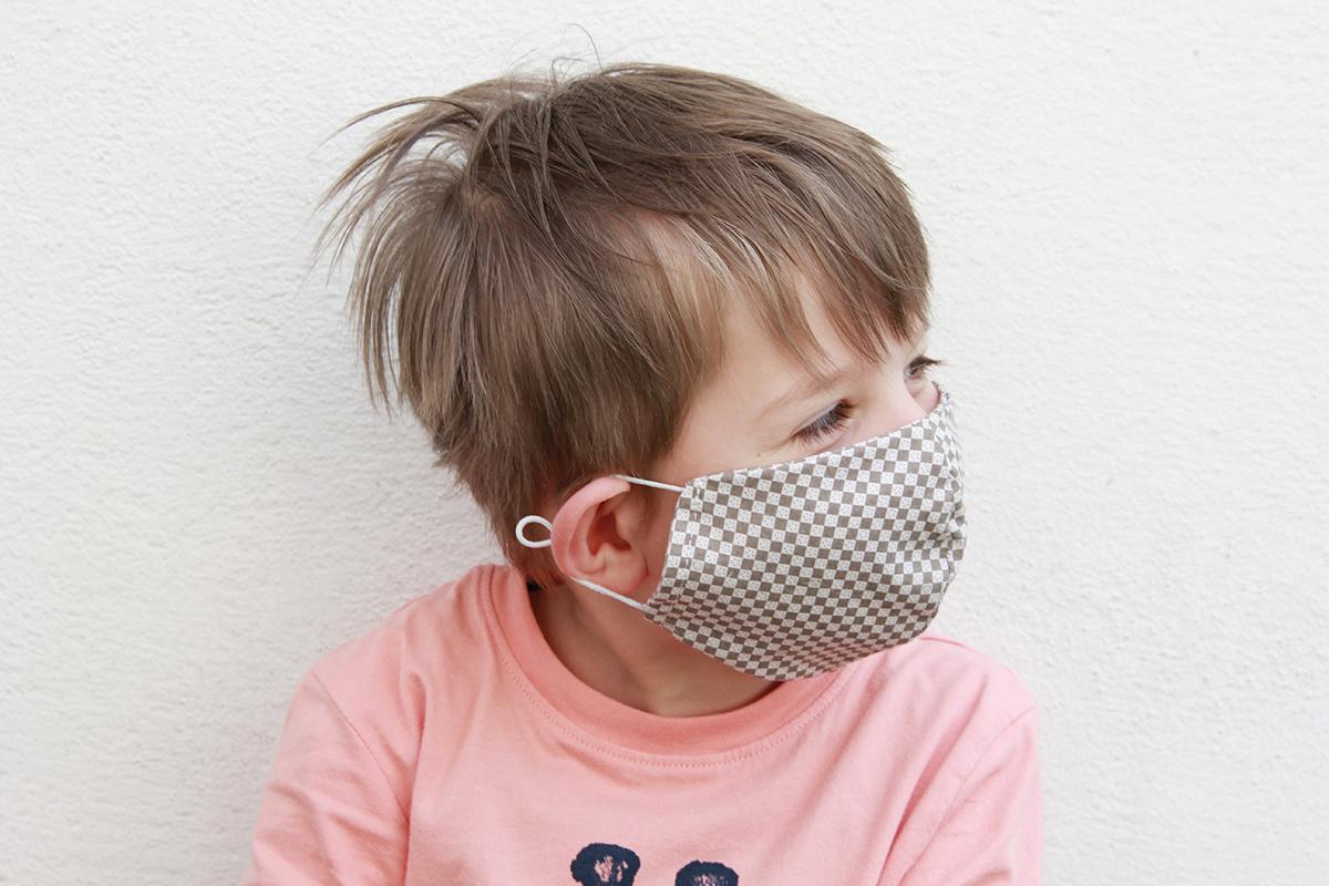 myHummy Stoffmaske für Mädchen (6j - 12j) mit einem Filter