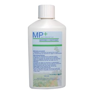 4 flesjes Waterbedconditioner MPplus 100 ml