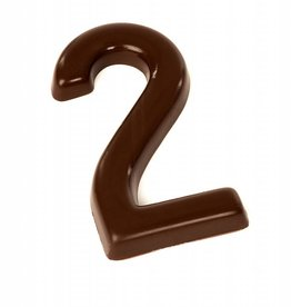 Chocolade cijfer - Melk