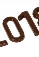 Chocolade cijfer Melkchocolade
