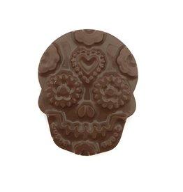 Skull praliné - Dark chocolate