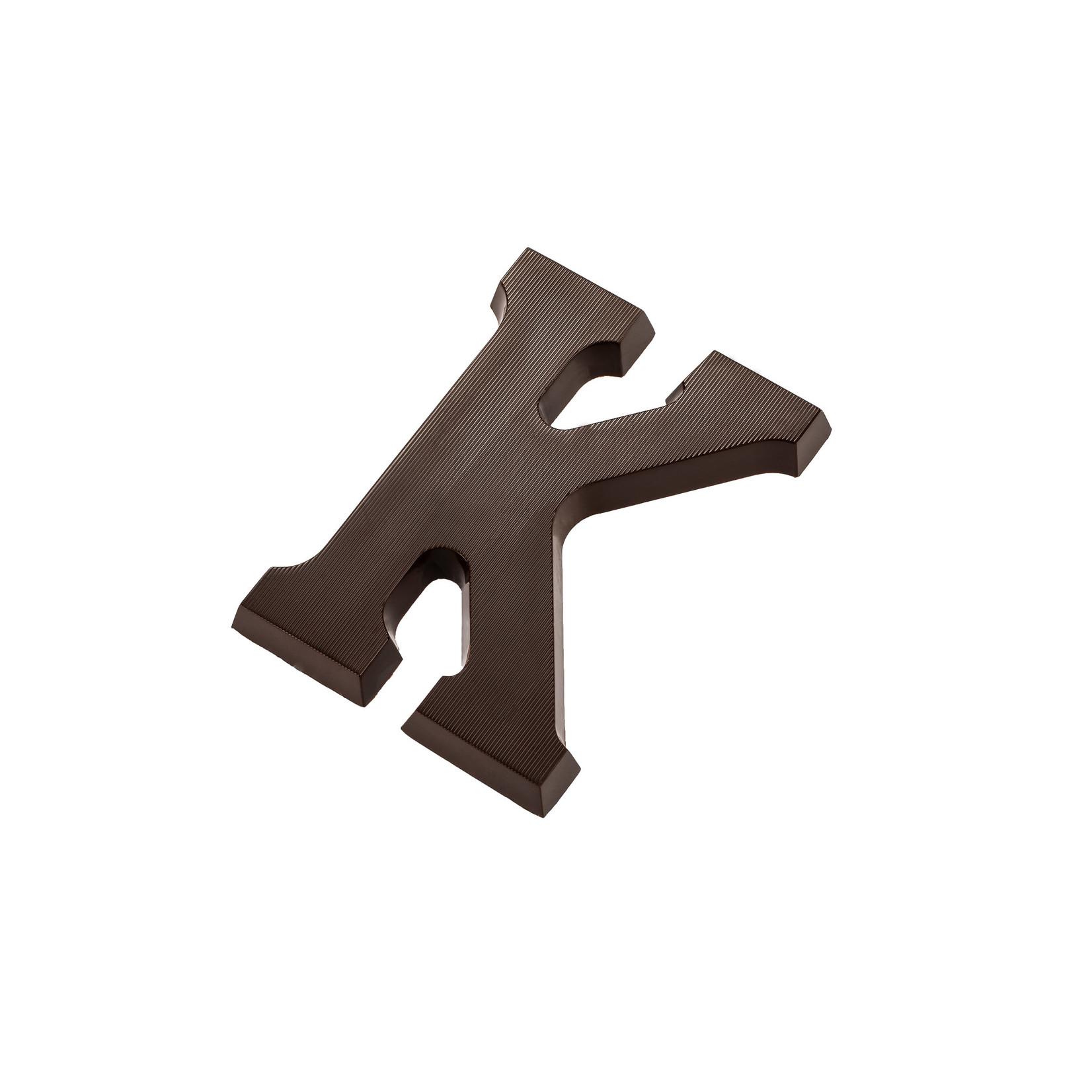 Chocolate letter -  Dark Chocolate