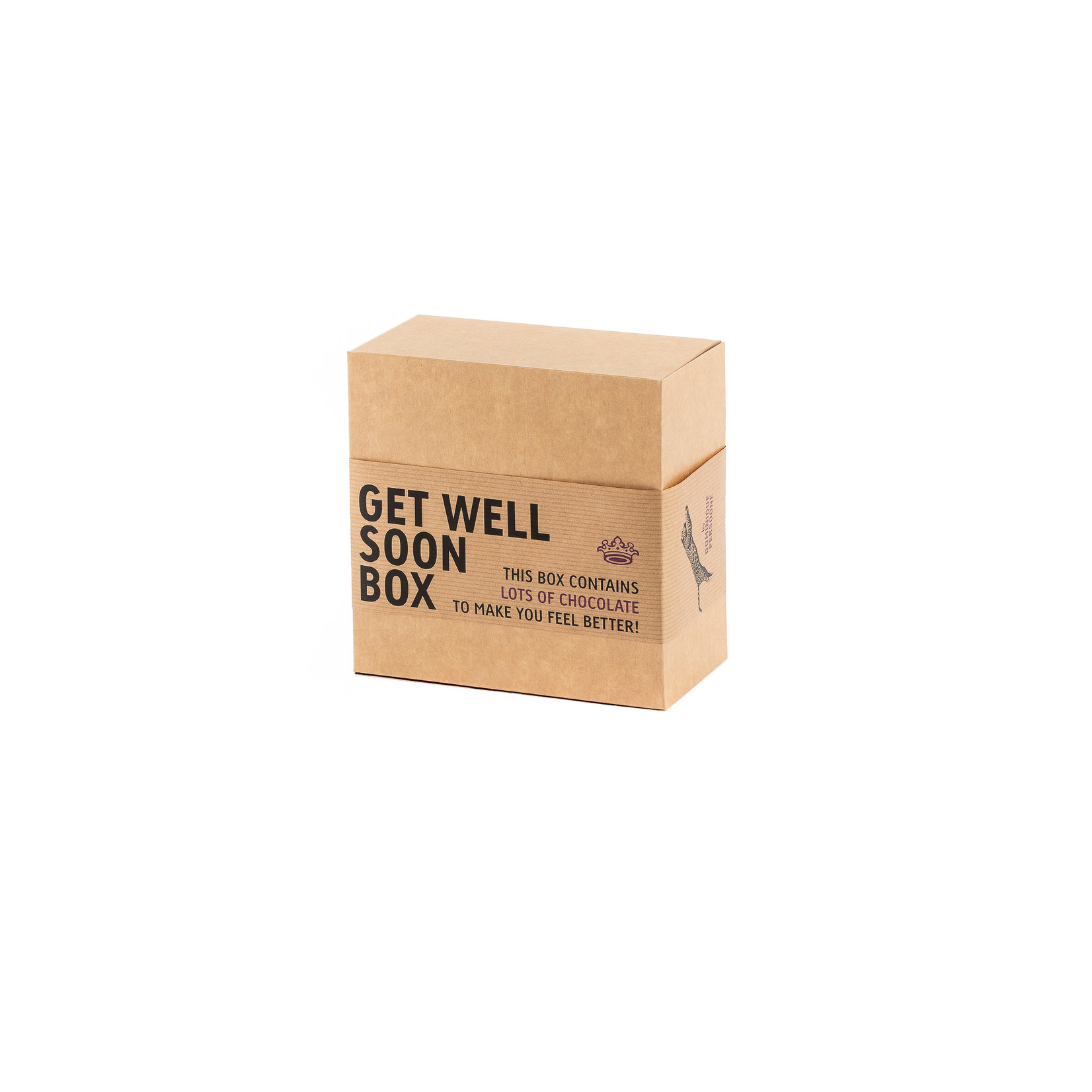 Gift box Get Well soon