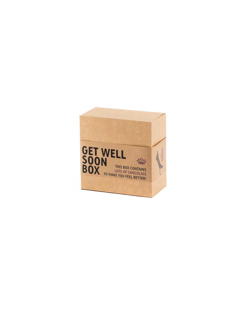 Gift box Get Well soon