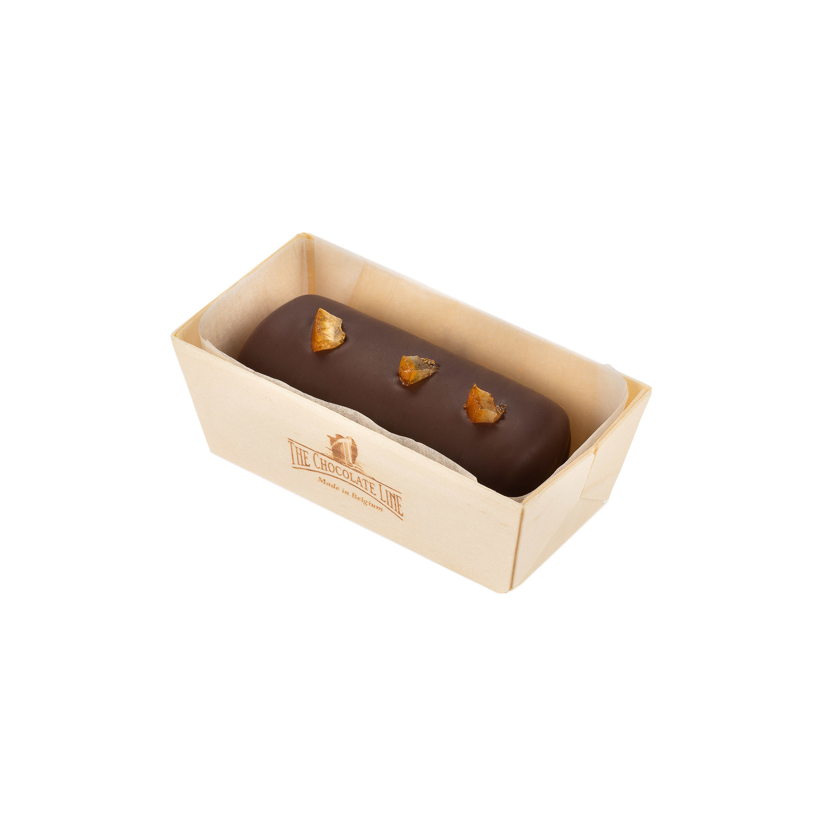 Marzipan with chocolate