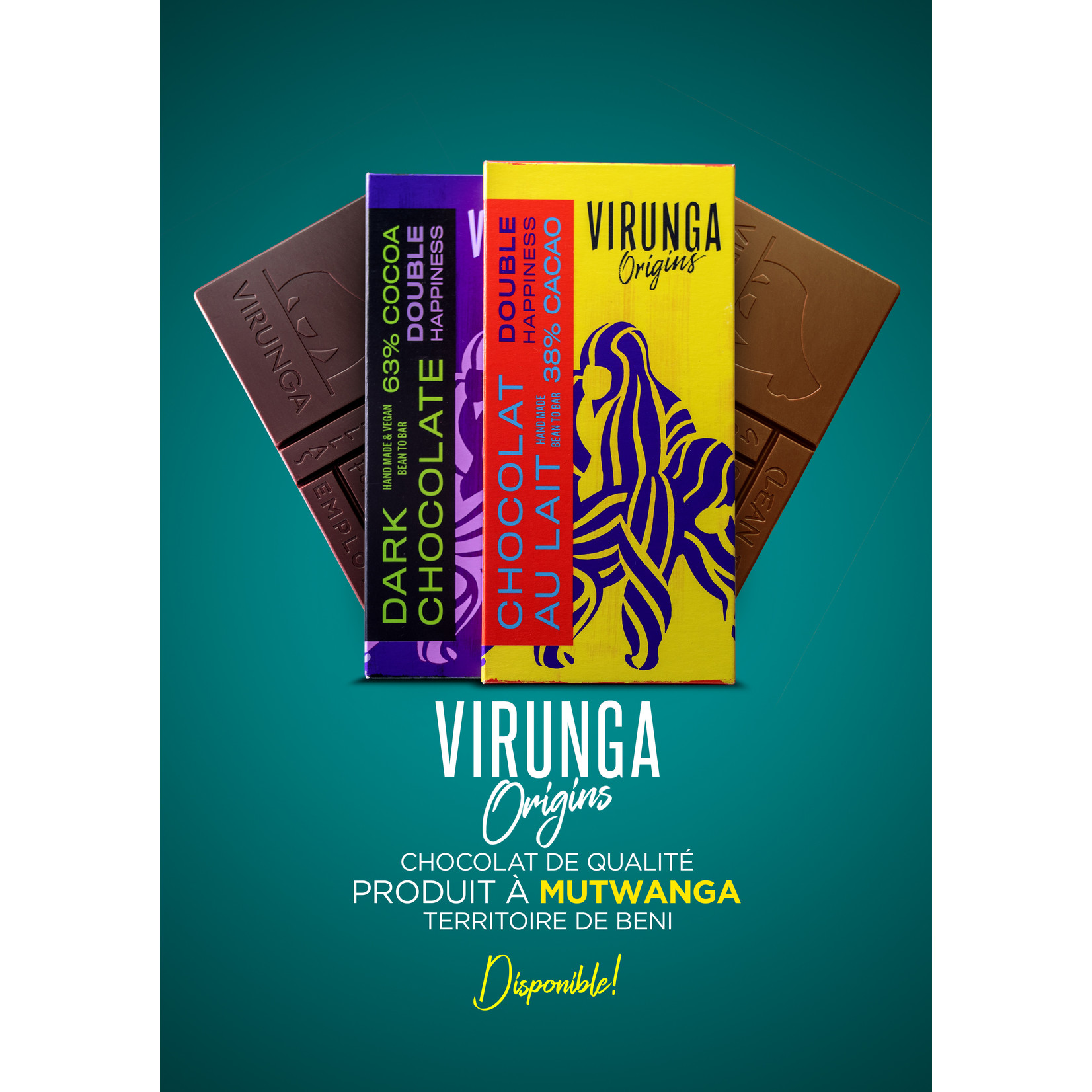 Virunga Chocolate Bar