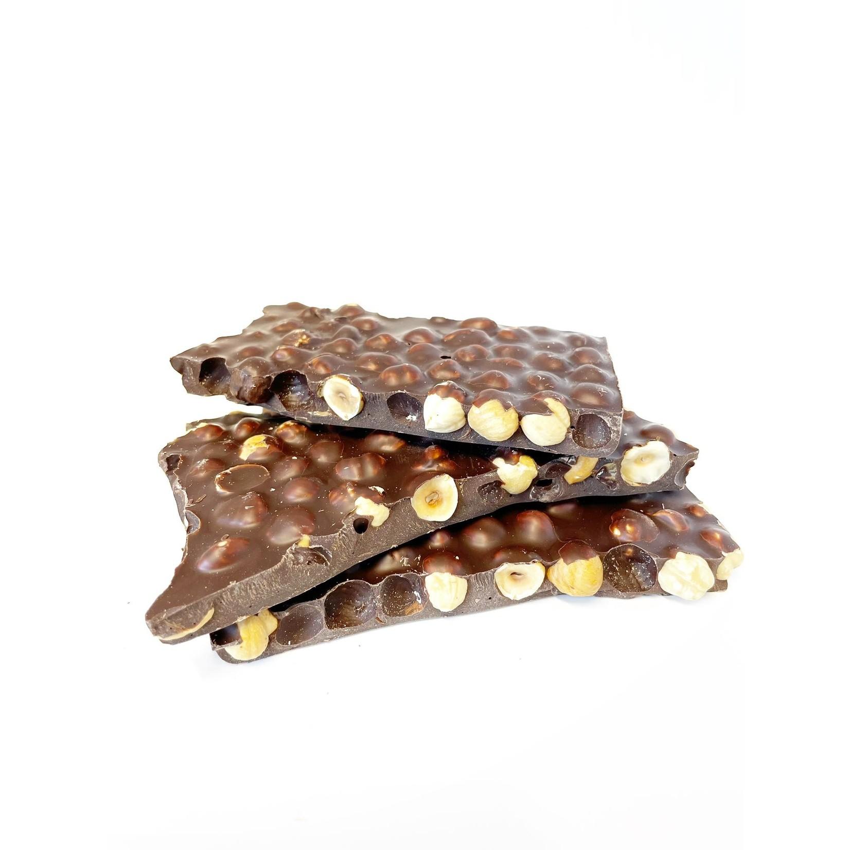 Blokchocolade Hazelnoot Puur 400g