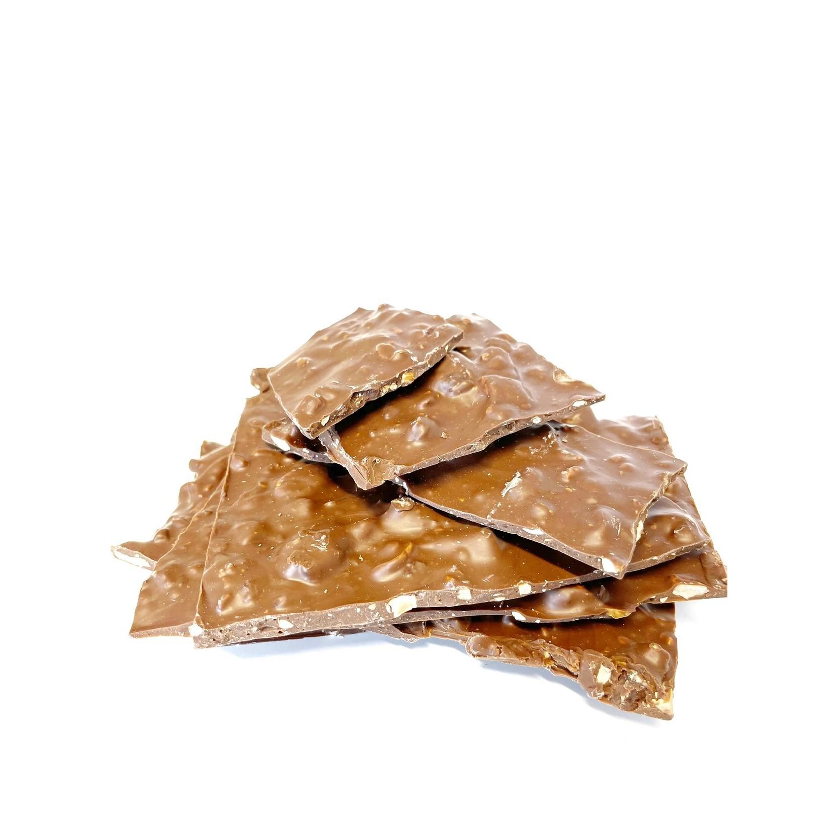 Blokchocolade Amandel Melk 400g