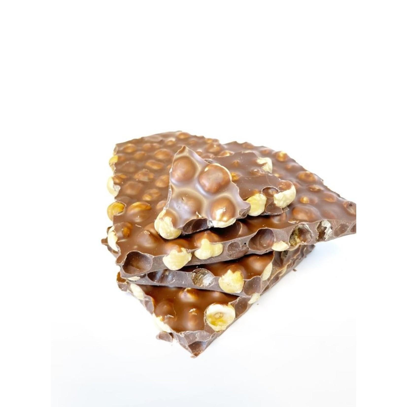 Blokchocolade Hazelnoot Melk 400g